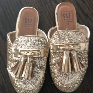 12 Gold Slip On Shoes